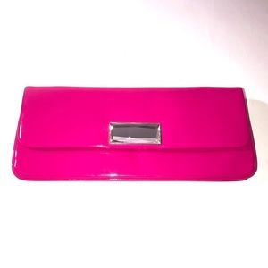 KATE LANDRY PINK CLUTCH